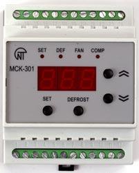Блок управления средне- и низкотемпературными холодильными машинами с автоматической оттайкой МСК-301